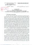 Nghị quyết Số 1261-NQ/BCS