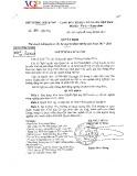 Quyết định Số 1819/QĐ-TTg của chính phủ về phê duyệt kế hoạch cơ cấu lại ngành nông nghiệp giai đoạn 2017-2020