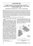 Nghiên cứu đề xuất dung tích bể chứa nước mưa hợp lý phục vụ cấp nước sinh hoạt cho các hộ gia đình vùng bán đảo Cà Mau