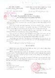 Quyết định Số 05/QĐ-BNN-TCCB