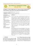 Xác định các thông số động học của vi sinh vật trong mô hình bể bùn hoạt tính dòng chảy liên tục xử lý nước thải chế biến thủy sản