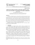 Enhancing positive effects for the communicative language teaching activities in English classrooms