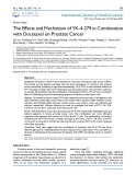 The effects and mechanism of YK-4-279 in combination with docetaxel on prostate cancer