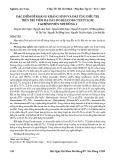 Đặc điểm đề kháng kháng sinh và đáp ứng điều trị trên trẻ viêm dạ dày do Helicobacter pylori tại Bệnh viện Nhi Đồng 2