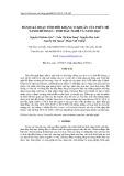 Đánh giá hoạt tính đối kháng vi khuẩn của phức hệ Nanochitosan - tinh dầu nghệ và nano bạc