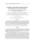 Ảnh hưởng của Hema đến quá trình tổng hợp và tính nhạy nhiệt của Poly (Nipam-co-hema)