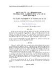 Hoàn nguyên vật liệu Polianilin - phụ phẩm nông nghiệp sử dụng xử lí chì (II) trong dung dịch