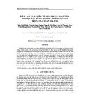 Điểm lại các nghiên cứu hóa học và hoạt tính sinh học một số loài sinh vật biển Việt Nam trong giai đoạn 2006-2012