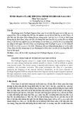 Tính Chaos của hệ phương trình Fitzhugh-nagumo