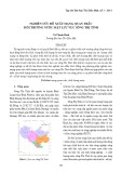 Nghiên cứu đề xuất mạng quan trắc môi trường nước mặt lưu vực sông Thị Tính