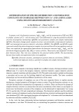 Determination of species distribution and formation constants of complexes between ion Cu2+ and amino acids using multivariate regression analysis
