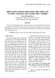 Kiểm chứng phương pháp nhận diện trọng âm từ tiếng Anh bằng ngữ âm học thực nghiệm