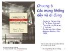 Bài giảng môn Mạng máy tính: Chương 6 - ThS. Trần Bá Nhiệm