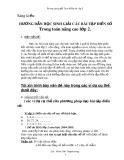 SKKN: Hướng dẫn học sinh giải các bài tập điền số trong toán nâng cao lớp 2