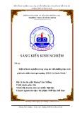 SKKN: Một số kinh nghiệm trong công tác bồi dưỡng học sinh giỏi môn điền kinh tại trường THCS Lê Đình Chinh