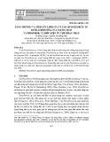 Tăng trưởng và tích lũy lipid của vi tảo Picochlorum sp.  dưới ảnh hưởng của nguồn nitơ và phosphor, và điều kiện ức chế khác nhau