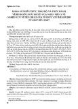 Khảo sát kiến thức, thái độ, và thực hành về bệnh sốt xuất huyết của nhân viên y tế: Nghiên cứu về tiêu chuẩn của Tổ chức Y tế Thế giới 2009 từ 6/2017 đến 9/2017