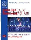 Tạp chí Khoa học và Công nghệ Việt Nam - Số 9A năm 2018
