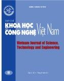 Tạp chí Khoa học và Công nghệ Việt Nam - Số 11B năm 2017