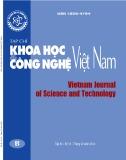 Tạp chí Khoa học và Công nghệ Việt Nam - Số 12B năm 2018