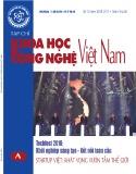 Tạp chí Khoa học và Công nghệ Việt Nam - Số 12A năm 2018