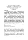 Supplementary resource materials in English language classrooms: Development and implementation