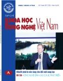 Tạp chí Khoa học và Công nghệ Việt Nam - Số 10A năm 2017