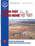 Tạp chí Khoa học và Công nghệ Việt Nam - Số 7A năm 2017