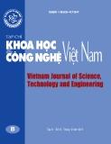 Tạp chí Khoa học và Công nghệ Việt Nam - Số 10B năm 2017