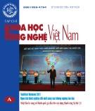 Tạp chí Khoa học và Công nghệ Việt Nam - Số 12A năm 2017