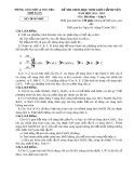 Đề thi chọn HSG cấp huyện môn Hóa học 9 năm 2011-2012 có đáp án - Phòng GD&ĐT Như Xuân