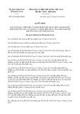 Quyết định số 01/2019/QĐ-UBND tỉnh Kon Tum