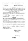 Quyết định số 14/2019/QĐ-UBND tỉnh BạcLiêu