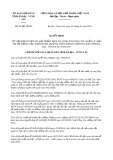 Quyết định số 95/2019/QĐ-UBND tỉnh BàRịa-VũngTàu