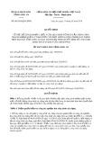 Quyết định số 09/2019/QĐ-UBND tỉnh LongAn