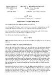 Quyết định số 93/2019/QĐ-UBND tỉnh QuảngNam