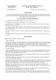 Quyết định số 06/2019/QĐ-UBND tỉnh VĩnhPhúc