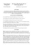 Quyết định số 06/2019/QĐ-UBND tỉnh BìnhĐịnh