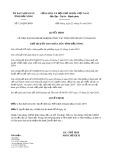 Quyết định số 121/2019/QĐ-UBND tỉnh ĐắkNông