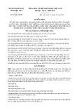Quyết định số 12/2019/QĐ-UBND tỉnh BạcLiêu