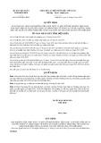 Quyết định số 07/2019/QĐ-UBND tỉnh ĐiệnBiên