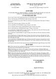 Quyết định số 07/2019/QĐ-UBND tỉnh Thừa Thiên Huế