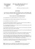 Quyết định số 01/2019/QĐ-UBND TP Hải Phòng