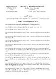 Quyết định số 01/2019/QĐ-UBND tỉnh Lai Châu