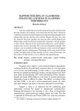 Rapport building in classroom: Strategies and role in learners' performance