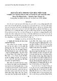 Hát sắc bùa trong văn hóa Việt Nam (Nghiên cứu ở xã Phú Lễ, huyện Ba Tri, tỉnh Bến Tre)