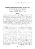 Mô hình giá trị thương hiệu - Nghiên cứu trong ngành nước giải khát