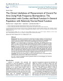 The clinical usefulness of measurement of visceral fat area using multi frequency bioimpedance: The association with cardiac and renal function in general population with relatively normal renal function