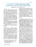 Cập nhật về mối liên quan giữa bệnh nha chu và bệnh toàn thân