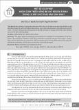 Một số giải pháp nhằm giảm thiểu nồng độ khí Đioxin/Furan trong lò đốt chất thải rắn sinh hoạt